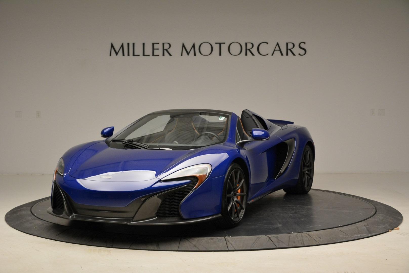 Used 2016 McLaren 650S Spider for sale Sold at Maserati of Westport in Westport CT 06880 1