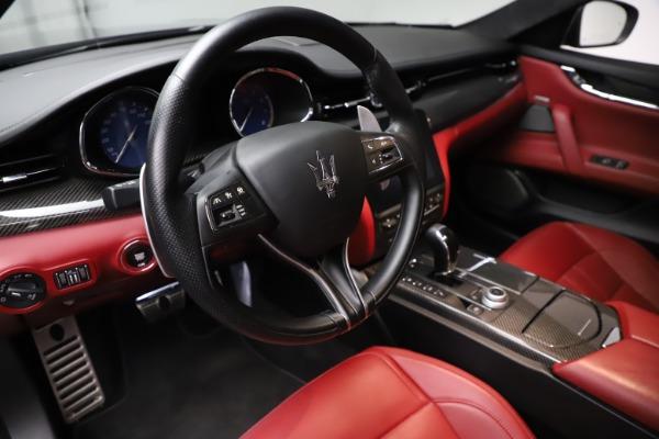 Used 2018 Maserati Quattroporte S Q4 GranSport for sale $67,900 at Maserati of Westport in Westport CT 06880 13