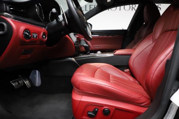 Used 2018 Maserati Quattroporte S Q4 GranSport for sale $67,900 at Maserati of Westport in Westport CT 06880 14