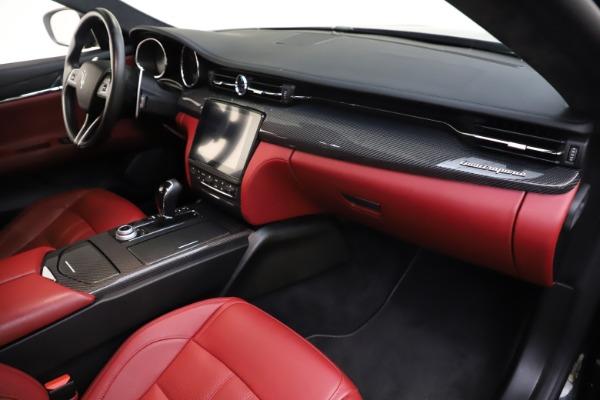Used 2018 Maserati Quattroporte S Q4 GranSport for sale $67,900 at Maserati of Westport in Westport CT 06880 22