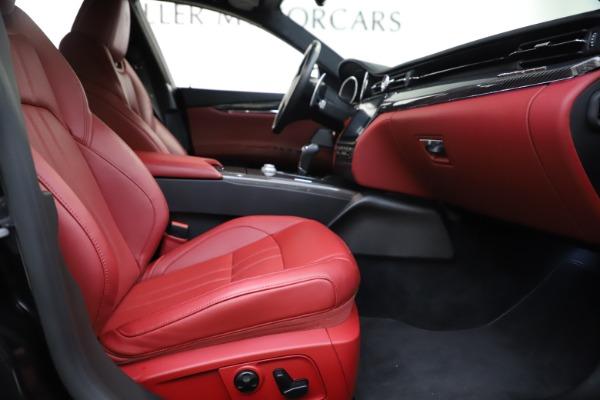 Used 2018 Maserati Quattroporte S Q4 GranSport for sale $67,900 at Maserati of Westport in Westport CT 06880 23