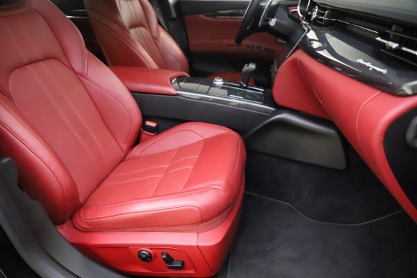Used 2018 Maserati Quattroporte S Q4 GranSport for sale $67,900 at Maserati of Westport in Westport CT 06880 24