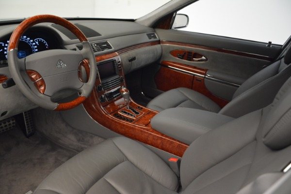 Used 2004 Maybach 57 for sale Sold at Maserati of Westport in Westport CT 06880 14