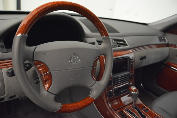 Used 2004 Maybach 57 for sale Sold at Maserati of Westport in Westport CT 06880 15