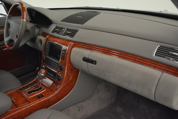 Used 2004 Maybach 57 for sale Sold at Maserati of Westport in Westport CT 06880 28