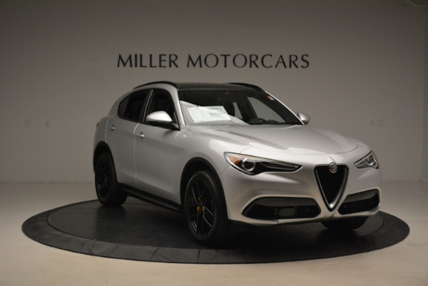New 2018 Alfa Romeo Stelvio Ti Sport Q4 for sale Sold at Maserati of Westport in Westport CT 06880 11