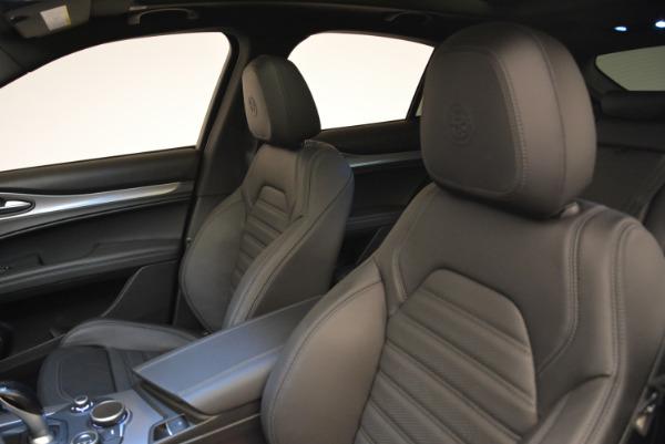 New 2018 Alfa Romeo Stelvio Ti Sport Q4 for sale Sold at Maserati of Westport in Westport CT 06880 15