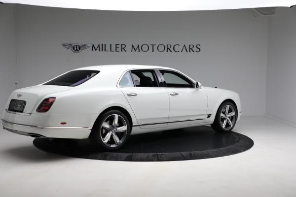 Used 2018 Bentley Mulsanne Speed for sale Sold at Maserati of Westport in Westport CT 06880 7