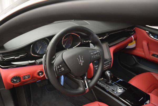 New 2018 Maserati Quattroporte S Q4 GranLusso for sale Sold at Maserati of Westport in Westport CT 06880 17