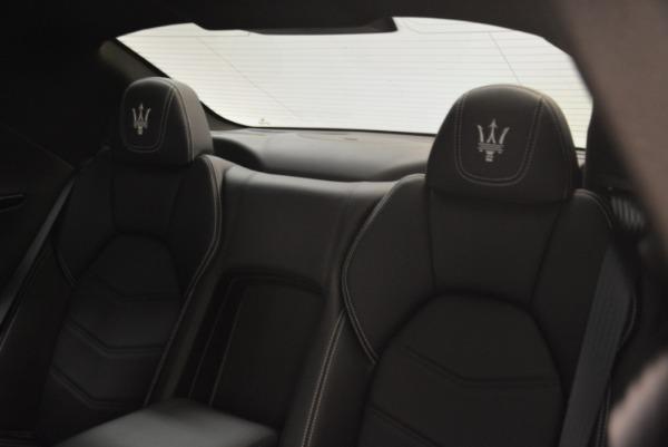 Used 2016 Maserati GranTurismo Sport for sale $61,900 at Maserati of Westport in Westport CT 06880 21