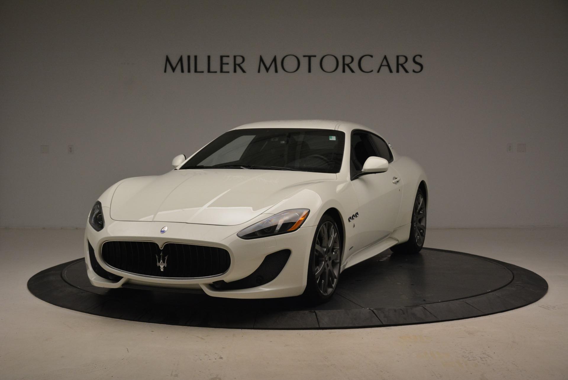 Used 2016 Maserati GranTurismo Sport for sale $61,900 at Maserati of Westport in Westport CT 06880 1