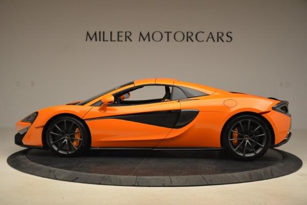 Used 2018 McLaren 570S Spider Convertible for sale Sold at Maserati of Westport in Westport CT 06880 16