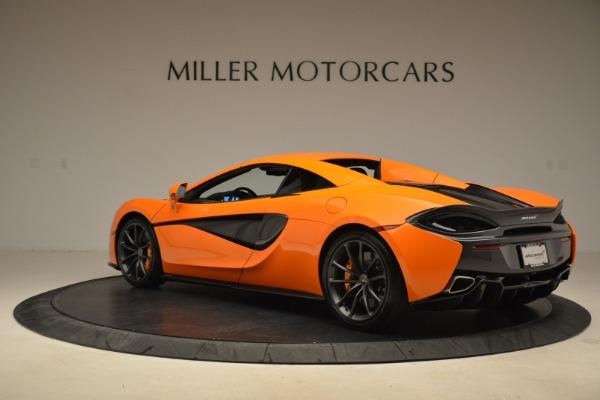 Used 2018 McLaren 570S Spider Convertible for sale Sold at Maserati of Westport in Westport CT 06880 17