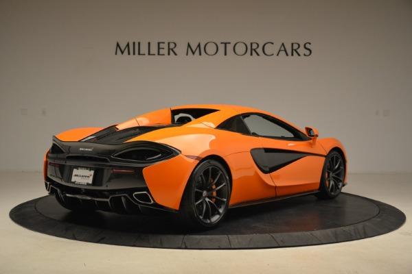 Used 2018 McLaren 570S Spider Convertible for sale Sold at Maserati of Westport in Westport CT 06880 19