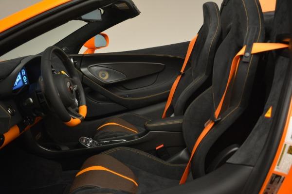 Used 2018 McLaren 570S Spider Convertible for sale Sold at Maserati of Westport in Westport CT 06880 26