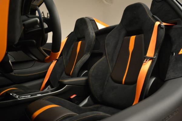 Used 2018 McLaren 570S Spider Convertible for sale Sold at Maserati of Westport in Westport CT 06880 27