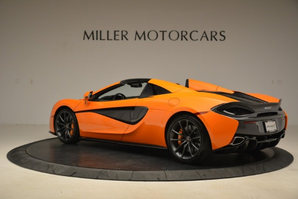 Used 2018 McLaren 570S Spider Convertible for sale Sold at Maserati of Westport in Westport CT 06880 4
