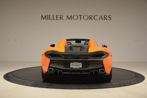 Used 2018 McLaren 570S Spider Convertible for sale Sold at Maserati of Westport in Westport CT 06880 6