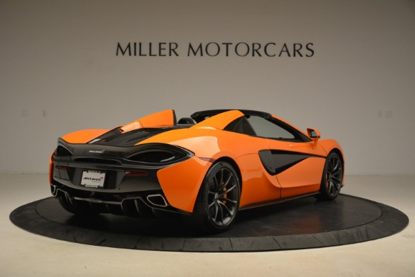Used 2018 McLaren 570S Spider Convertible for sale Sold at Maserati of Westport in Westport CT 06880 7