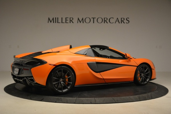 Used 2018 McLaren 570S Spider Convertible for sale Sold at Maserati of Westport in Westport CT 06880 8