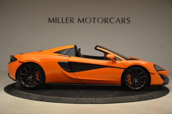 Used 2018 McLaren 570S Spider Convertible for sale Sold at Maserati of Westport in Westport CT 06880 9