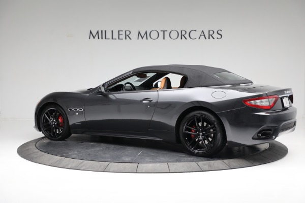 New 2018 Maserati GranTurismo Sport Convertible for sale Sold at Maserati of Westport in Westport CT 06880 8