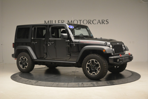 Used 2016 Jeep Wrangler Unlimited Rubicon for sale Sold at Maserati of Westport in Westport CT 06880 10