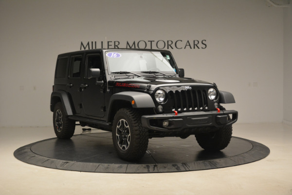 Used 2016 Jeep Wrangler Unlimited Rubicon for sale Sold at Maserati of Westport in Westport CT 06880 11