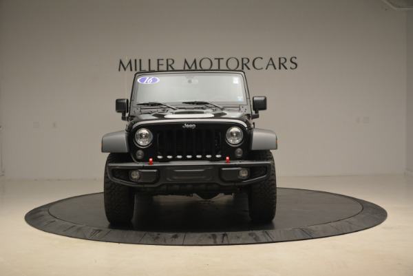 Used 2016 Jeep Wrangler Unlimited Rubicon for sale Sold at Maserati of Westport in Westport CT 06880 12