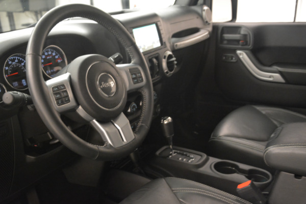 Used 2016 Jeep Wrangler Unlimited Rubicon for sale Sold at Maserati of Westport in Westport CT 06880 13