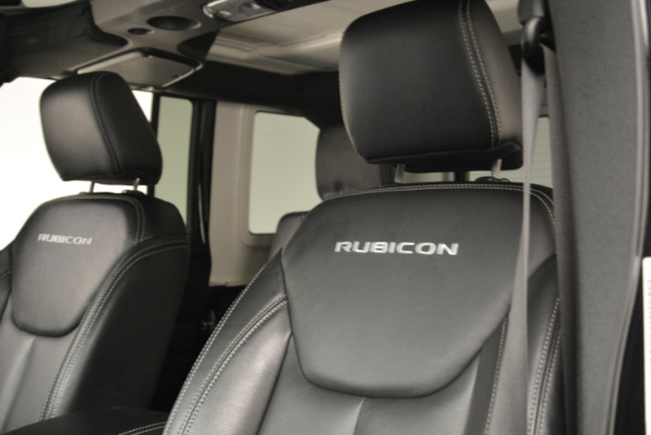 Used 2016 Jeep Wrangler Unlimited Rubicon for sale Sold at Maserati of Westport in Westport CT 06880 15