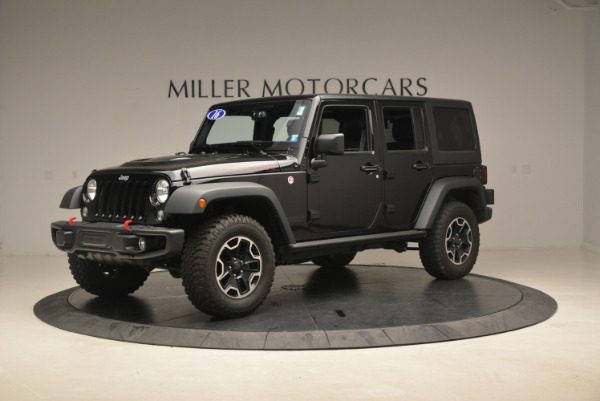 Used 2016 Jeep Wrangler Unlimited Rubicon for sale Sold at Maserati of Westport in Westport CT 06880 2