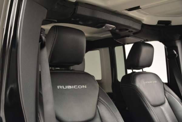 Used 2016 Jeep Wrangler Unlimited Rubicon for sale Sold at Maserati of Westport in Westport CT 06880 20