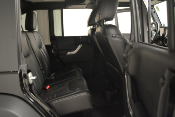 Used 2016 Jeep Wrangler Unlimited Rubicon for sale Sold at Maserati of Westport in Westport CT 06880 22