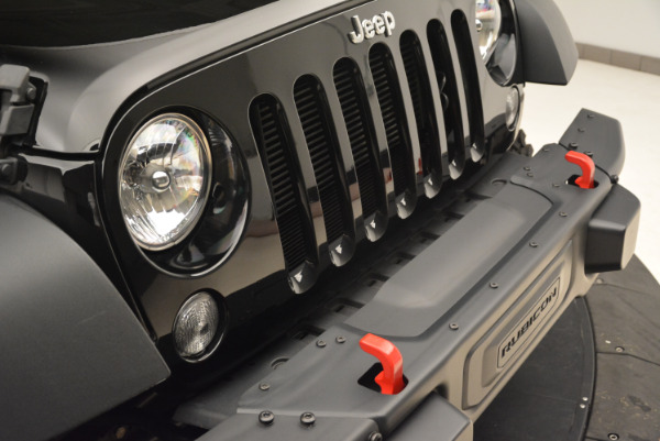 Used 2016 Jeep Wrangler Unlimited Rubicon for sale Sold at Maserati of Westport in Westport CT 06880 23