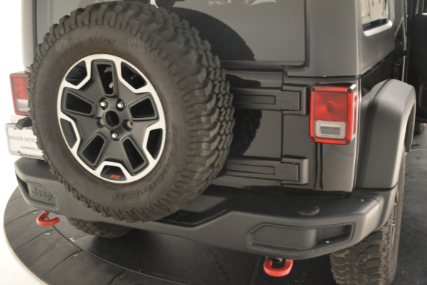 Used 2016 Jeep Wrangler Unlimited Rubicon for sale Sold at Maserati of Westport in Westport CT 06880 24