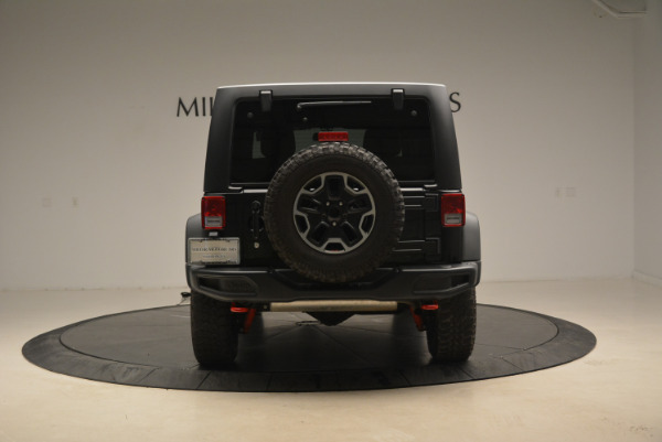 Used 2016 Jeep Wrangler Unlimited Rubicon for sale Sold at Maserati of Westport in Westport CT 06880 6