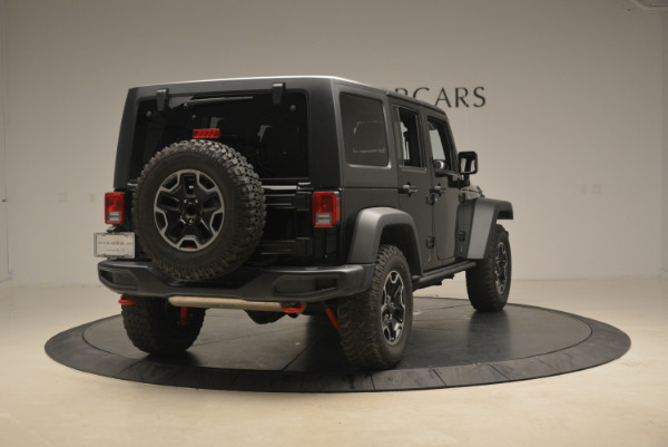 Used 2016 Jeep Wrangler Unlimited Rubicon for sale Sold at Maserati of Westport in Westport CT 06880 7