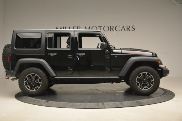 Used 2016 Jeep Wrangler Unlimited Rubicon for sale Sold at Maserati of Westport in Westport CT 06880 9