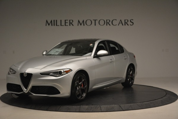 New 2018 Alfa Romeo Giulia Ti Sport Q4 for sale Sold at Maserati of Westport in Westport CT 06880 2