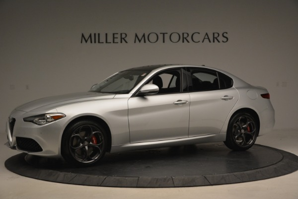 New 2018 Alfa Romeo Giulia Ti Sport Q4 for sale Sold at Maserati of Westport in Westport CT 06880 3
