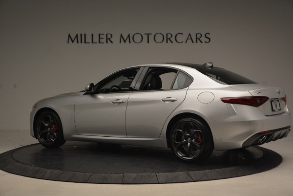 New 2018 Alfa Romeo Giulia Ti Sport Q4 for sale Sold at Maserati of Westport in Westport CT 06880 5