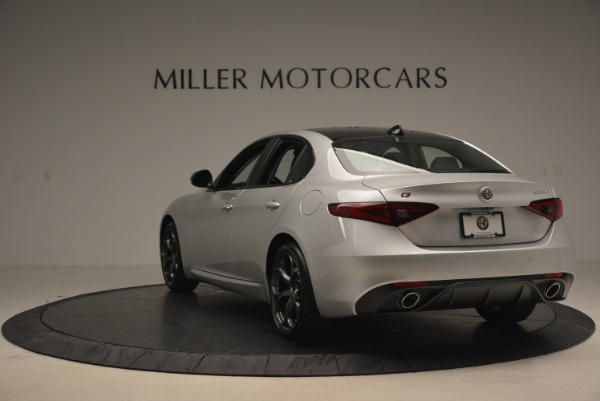 New 2018 Alfa Romeo Giulia Ti Sport Q4 for sale Sold at Maserati of Westport in Westport CT 06880 6
