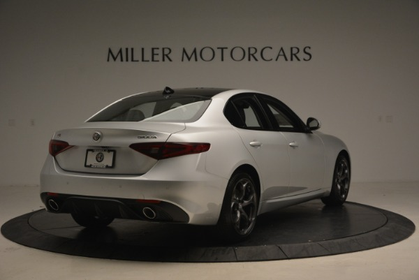 New 2018 Alfa Romeo Giulia Ti Sport Q4 for sale Sold at Maserati of Westport in Westport CT 06880 8