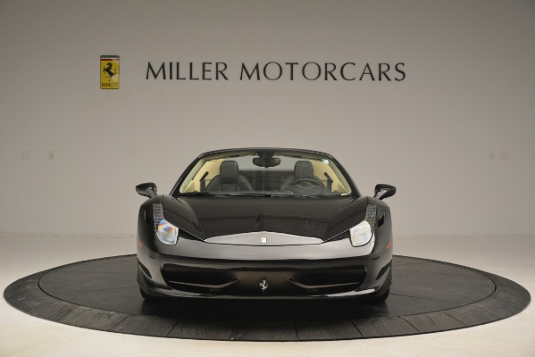 Used 2014 Ferrari 458 Spider for sale Sold at Maserati of Westport in Westport CT 06880 12