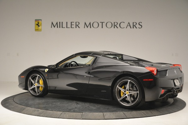 Used 2014 Ferrari 458 Spider for sale Sold at Maserati of Westport in Westport CT 06880 16