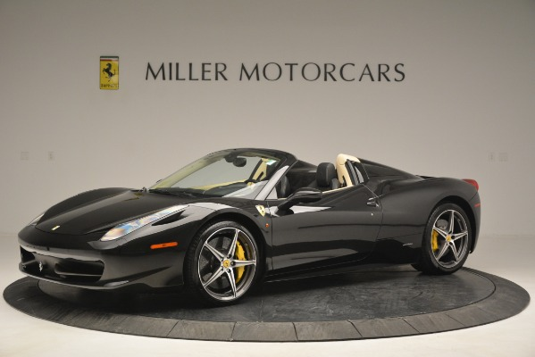 Used 2014 Ferrari 458 Spider for sale Sold at Maserati of Westport in Westport CT 06880 2