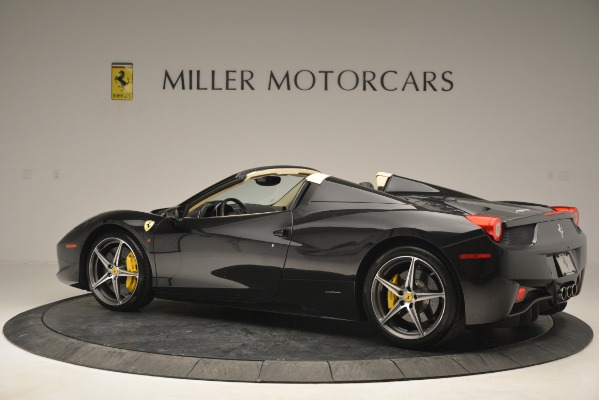 Used 2014 Ferrari 458 Spider for sale Sold at Maserati of Westport in Westport CT 06880 4