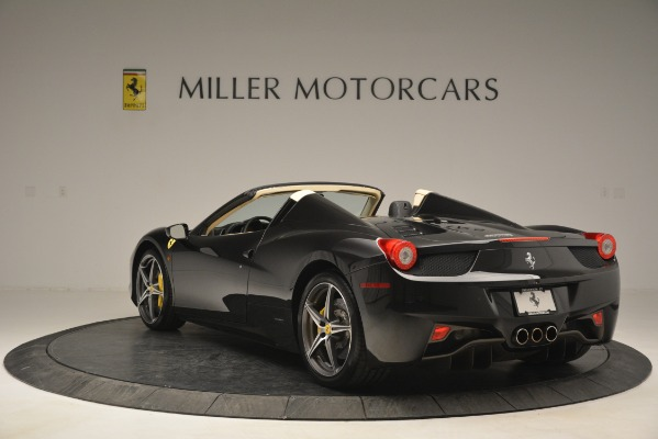 Used 2014 Ferrari 458 Spider for sale Sold at Maserati of Westport in Westport CT 06880 5