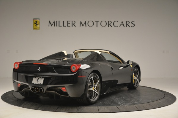 Used 2014 Ferrari 458 Spider for sale Sold at Maserati of Westport in Westport CT 06880 7